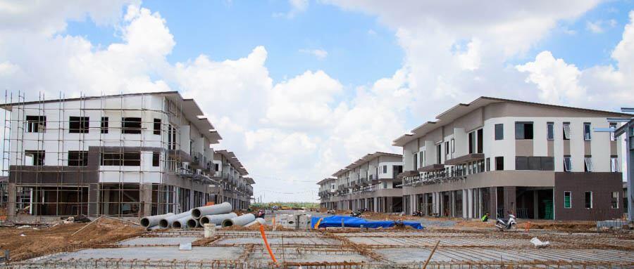 Những căn biệt thự của Waterpoint đang bước vào giai đoạn hoàn thiện, chuẩn bị bàn giao cho khách hàng từ quý 3-2020