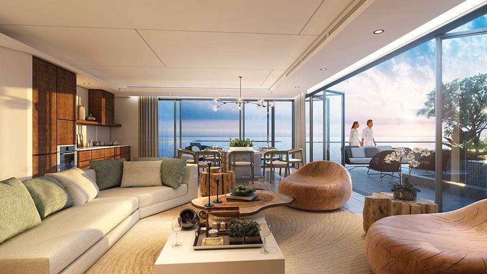Condotel có lối thiết kế như căn hộ thông thường.