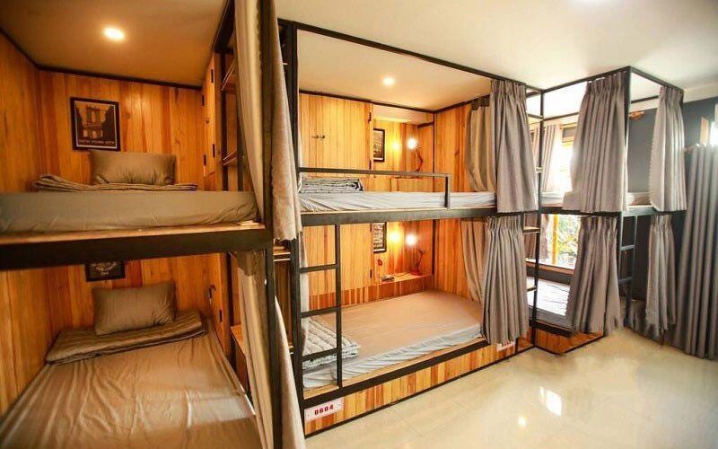 Hostel dành cho phân khúc khách hàng bình dân