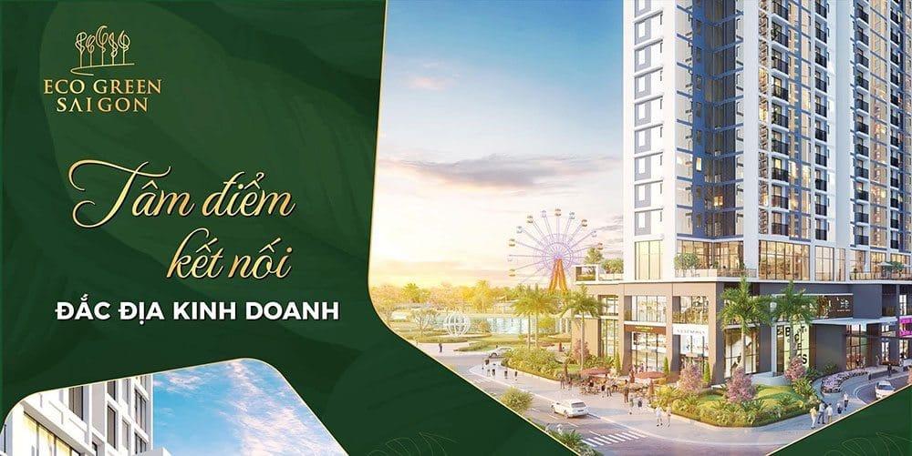Dự án Eco Green Sài Gòn là tâm điểm kết nối tiện nghi.